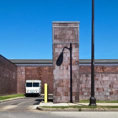 Columbus, Indiana U.S. Post Office designed by Kevin Roche John Dinkeloo Associates, 1969   photo by Hadley Fruits