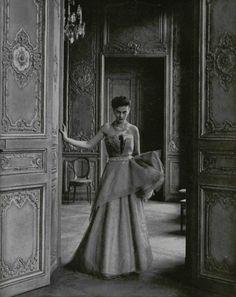 Elsa Schiaparelli, Spring 1949, by Philippe Pottier for L'Officiel