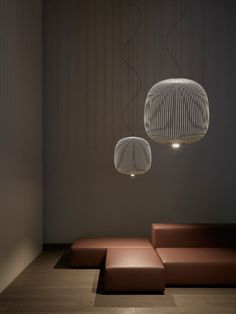 A Hanging Light Inspired by Bicycle Spokes - Design Milk