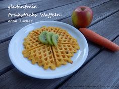 Glutenfreie Frühstücks-Waffeln ohne Zucker, auch für Babys und Kleinkinder geeignet  http://zauberhaftekruemel.blogspot.co.at/2016/01/rezepte-glutenfreie-fruhstuckswaffeln.html