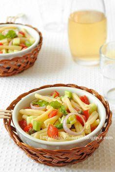 vegan: panzanella pasta salad...