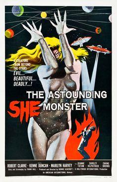 The Astounding She Monster.....1957