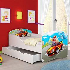 Drveni krevet za decu sa fiokom 140x70, pravi je hit. Obradujte svoje mališane krevetom sa njihovim omiljenim motivom ili crtanim junakom. Uz krevet se dobija i madrac debljine 6cm. Dostupan je u čak 28 različitih dezena. Za samo 15 minuta montiraćete ovaj krevet. Vaš  Online Shop Unna.