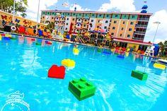 O hotel da Legoland na Flórida