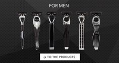 Razors for extremely high standards in the SHAVE-LAB razor shop