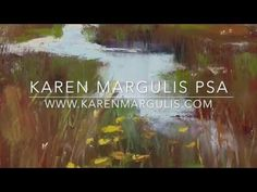 Karen Margulis shares tips for painting natural and believable grasses in a…