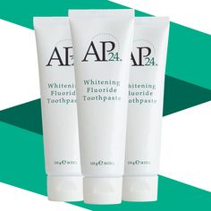 AP 24 Anti-Plaque Fluoride Toothpaste uses a safe, gentle form of fluoride to remove plaque and protect against tooth decay. Nu Skin, Ap 24 Whitening Toothpaste, Stained Teeth, Cosmetic Items, Waterproof Makeup, Oral Hygiene, Teeth Cleaning, Beauty Shop, Anti Aging Skin Care