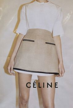 Taken from the Celine Spring 2010 advertising campaign. Photo: Juergen Teller.