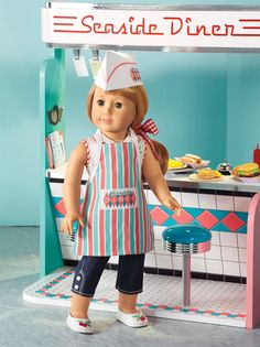 Maryellen's Play Outfit & Diner Set