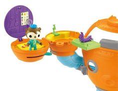 Fisher Price Octonauts Shellington's on The Go Pod Toy | eBay
