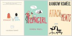 Book Reviews: Eleanor & Park, Fangirl and Attachments by Rainbow Rowell