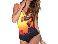 Safari Swimsuit Safari Bathing suit Safari by LushTartApparelShop, $14.00