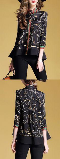 Arilce Black-Seven-Stone-Seven-Cher-sevenry Men Polo Shirt Short Sleeve Lapel Blouse Black