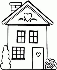 house coloring pages free online printable coloring pages sheets for kids get the latest free house coloring pages images favorite coloring pages to - House Coloring Page