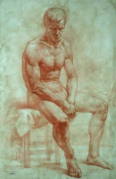 Lovely atmosphere created in this classic #figure #study by Andrey Kartashov.