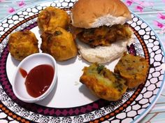 Yummy Indian streetfood can be eaten anytime during the day