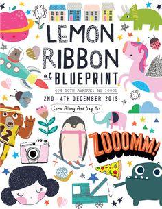Zooom! Come along & say hi to Lemon Ribbon at Blueprint!!
