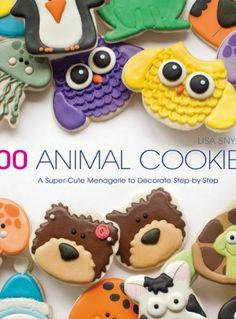 100 Animal Cookies Book by | The Bearfoot Baker      #bearfootbaker #royalicing #rolloutcookies #edibleart #cutecookies #animalcookies #cutecritters #deliciouscookies