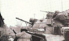 Battle of Hue Casualties | These are photos of an M48 Tank of Alpha Co. 1st Tank Bn., with ...