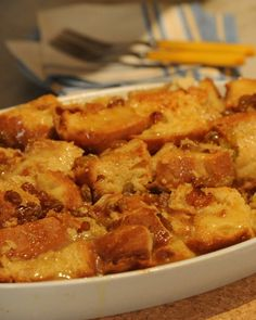 Bourbon Bread Pudding from Back in the Day Bakery
