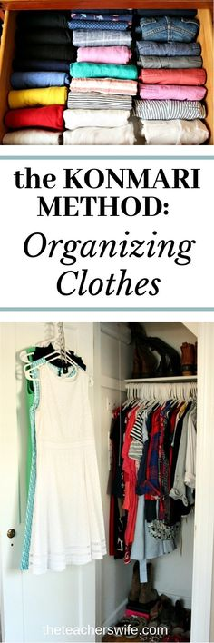 62510d0c74c09 Learn how to use the KonMari method of organizing clothes to keep your  closets and drawers
