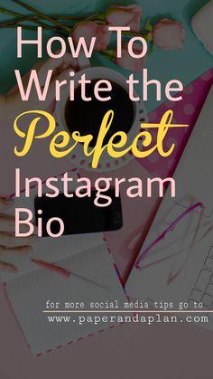 business plan instagram