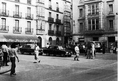 Plaza del Arca. VITORIA INSOLITA, fotos antiguas de Vitoria-Gasteiz