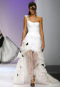 robe de mariee courte  Robe de mariée courte devant - Cymbeline ...