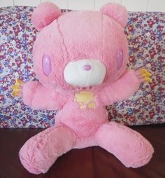 New GLOOMY BEAR Plush Sharbety 15.7inch pink 40cm Doll TAITO RARE Japan