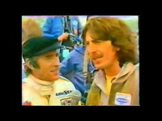 George Harrison and Jackie Steward interview for Motorsport in June 1979 at Donington Park Racetrack, London. The first 1:04 is fuzzy but it clears up after then.
