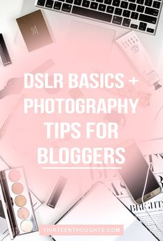 Photography tips for bloggers. Photography is a huge part of blogging, there's no denying that. I think that one of my favorite aspects of having a blog is