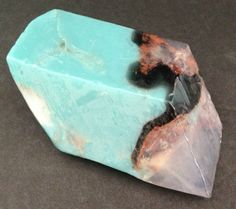 Pink 4 oz Bar Soaprock Rocklet, Turquoise, Blue Gold Natural Mineral Glycerin #PINK