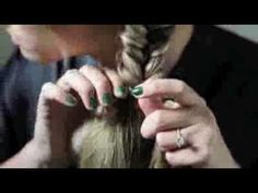 How to do a fishtail braid!