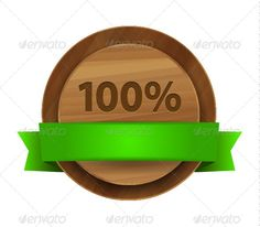 Vector 100% Green Wooden Label  #GraphicRiver         Vector 100% green wooden label with green ribbon.  	 The item is a fully editable vector illustration so all the elements are in the EPS10 file and the use of vector graphics editors is strongly recommended.  	 It is fully scalable and can be converted to any size JPEG , PNG or GIF .     Created: 24March13 GraphicsFilesIncluded: VectorEPS Layered: No MinimumAdobeCSVersion: CS Tags: badge #bio #design #earth #eco #ecology #environment…