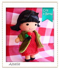 La Muñeca de Trapo de la Tienda de Juguetes | Muñequitas de Tela ...