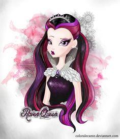 Stop calling me evil - Raven Queen by Coloralecante.deviantart.com on @deviantART