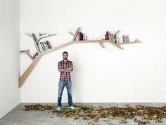 Tree Branch Bookcase
