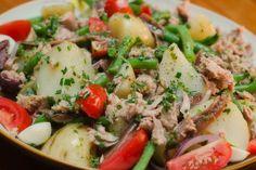 Nicoise Salad Photo : Karen E Photography Hartford House, Nicoise Salad, Potato Salad, Salad Recipes, Yummy Food, Foods, Chicken, Ethnic Recipes, Photography