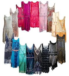 Roaring 20s dresses