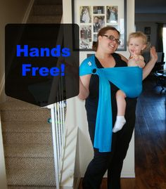 Naturally Cracked: One Size Beachfront Baby Sling #GIVEAWAY