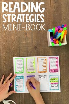 FREE Reading Strategies Mini-Book
