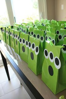 toy story party favors alien favor bags with claw