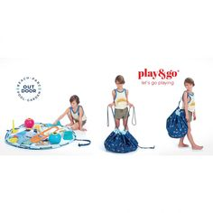 Play and Go Storage Bag & Playmate - Surf Cow makes moo Toy Storage Solutions, Toy Storage Bags, Outdoor Toys, Outdoor Storage, Play N Go, Go Bags, Kids Play Area, Puzzles For Kids, Stylish Kids
