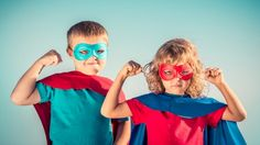Does your child like to pretend to be a superhero? That's a good thing.