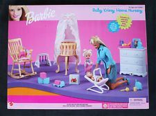 VINTAGE BARBIE (90´s): BABY KRISSY HOME NURSERY (GUARDERIA) BRAND NEW OLD STOCK!