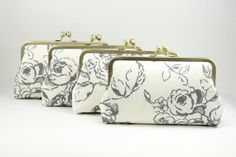 Set of Bridesmaids Clutches / Bridesmaids Gift