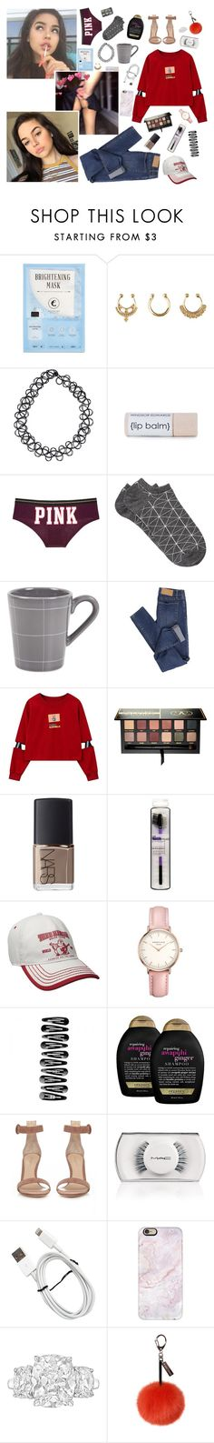 """""""xo 11/07/16 } 3:42pm  xo"""" by d3structionxx ❤ liked on Polyvore featuring Kocostar, Charlotte Russe, JFR, Victoria's Secret, Witchery, Zara Home, Cheap Monday, Anastasia Beverly Hills, NARS Cosmetics and Topshop"""