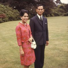 King Bhumibol is married to Queen Sirikit of Thailand.
