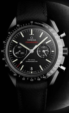 omega speedmaster dark side of the moon | 44.25 mm