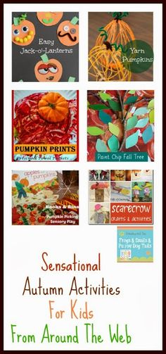 Sensational Autumn Activities For Kids From Around The Web  {kids co-op 10-10} by FSPDT